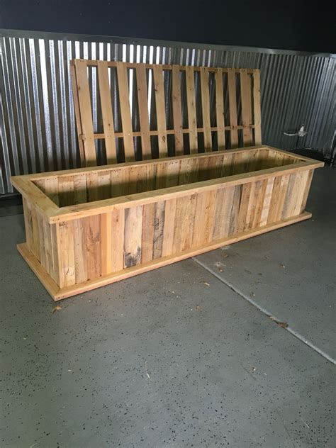 Planter Box Made From Pallets Things I Have Made Pallet Planter Box Plans