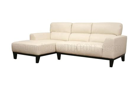 leather contemporary l shaped sectional sofa w high back
