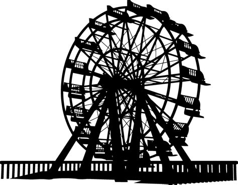circus coloring book escape to the circus world with this fanciful coloring odyssey books free ferris wheel vector silhouette titanui