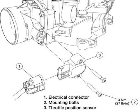 2002 ford f 150 throttle position sensor moreover cadillac deville ford e 250 throttle position sensor location ford free