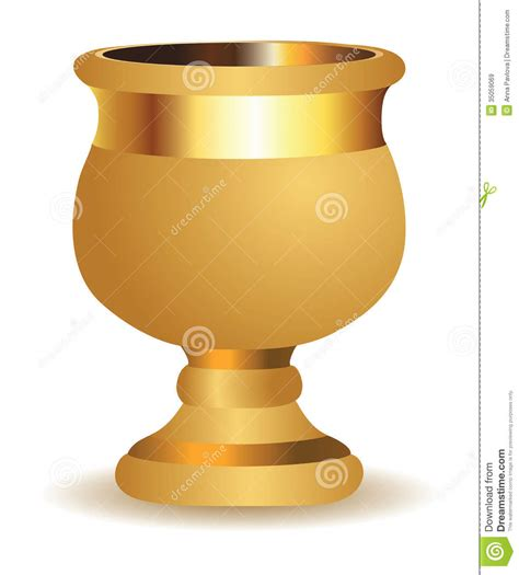 Golden Vase by Golden Vase Royalty Free Stock Images Image 35059069