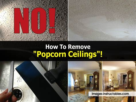 how to take popcorn ceiling how to remove quot popcorn ceilings quot