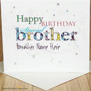 special birthday card for with name