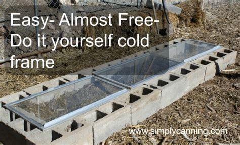 Do It Yourself Framing And Matting by Do It Yourself Cold Frame Cheap And Easy Millers