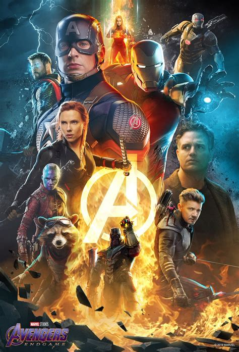 avengers endgame posters flickering myth