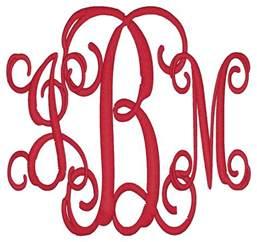create monogram initials spotlight on monogram style 3 initials classic miss s monograms