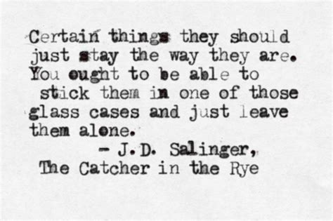 themes in catcher in the rye with quotes people never believe you by j d salinger like success