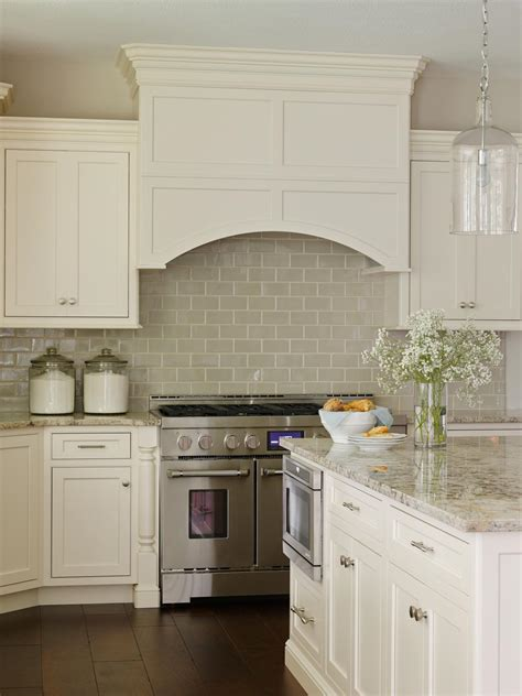Backsplash For White Kitchen Cabinets Best Kitchen 2014 Hgtv