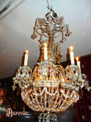 barock luster nouveau antique nouveau lustre with lustre rococo