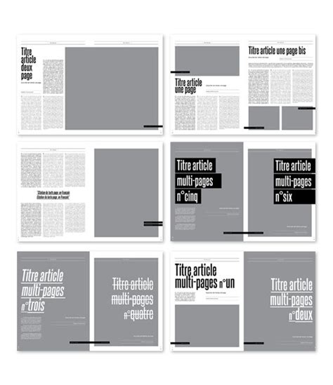 grid layout for portfolio magspreads editorial design and magazine layout