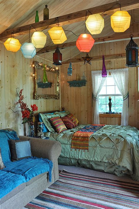 bohemian cabin tiny house swoon