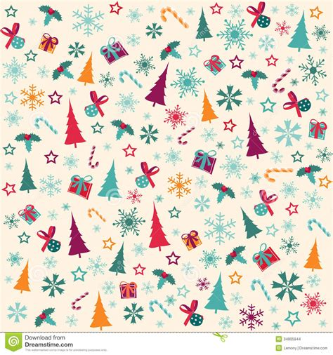 pattern merry christmas merry christmas stock vector image of design gifts