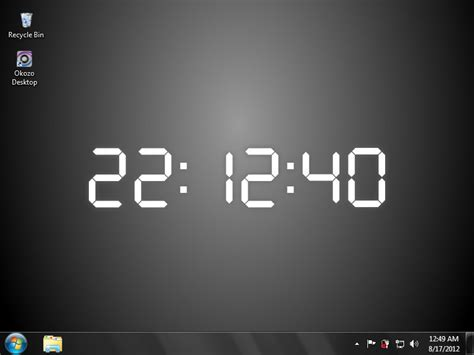 clock themes for pc windows 7 clock wallpaper free windows 7 wallpapersafari