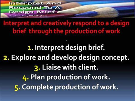 design brief powerpoint presentation design brief introduction authorstream