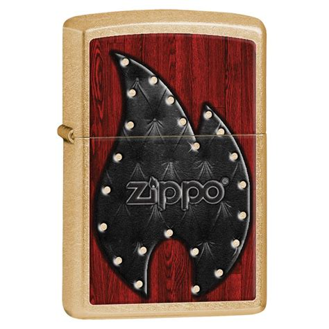 Zippo Riveted Gold Dust 28832 encendedor zippo gold dust 28832