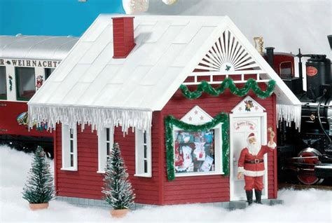 Santa Claus In House by Piko 62703 Santas Workshop G Scale Building At Topslots N