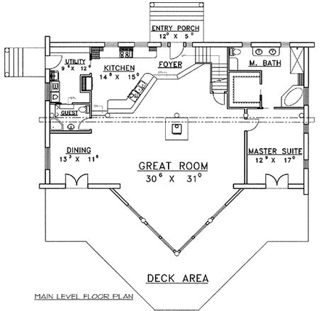 sloped lot floor plans sloping lot mountain log home plan 35128gh architectural designs house plans