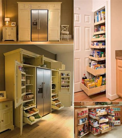 organize home 5 cool and creative kitchen pantry designs
