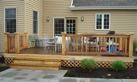 deck house home patios back flush with deck house houses back deck