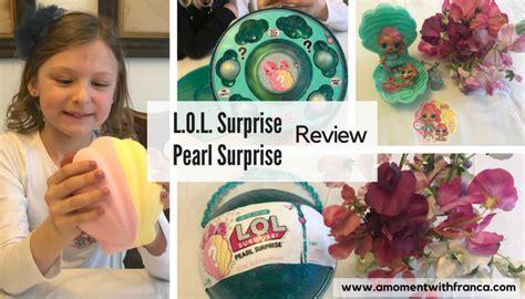 L O L Pearl l o l pearl review a moment with franca