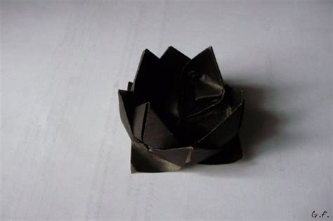 Sherlock Origami - black lotus sherlock by gretafaust on deviantart