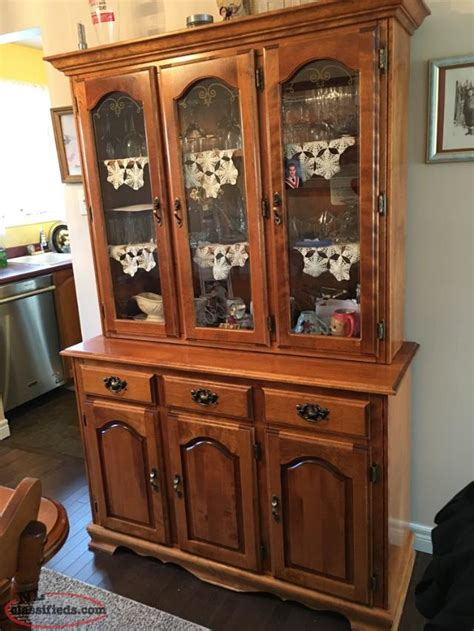 Dining Room Table And Hutch Dining Room Table And Buffet Hutch Set Conception Bay South Newfoundland Labrador Nl