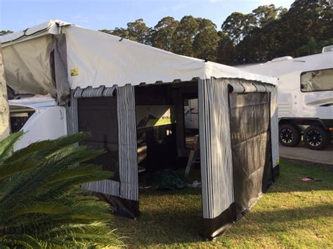annexe walls for roll out awning coffs canvas caravan annexes and cer trailers 171 coffs