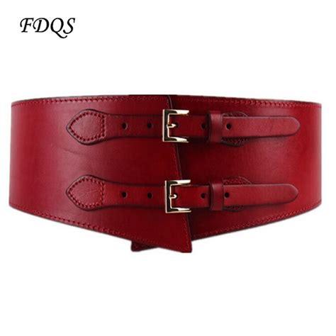 2015 leather vintage wide belt leather