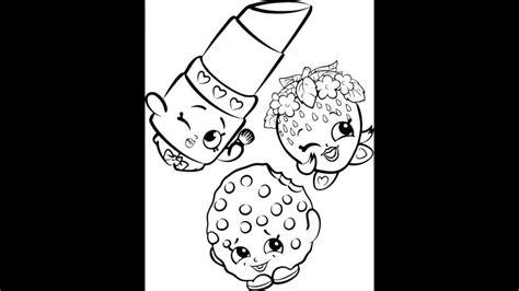 imagenes para pintar shopkins dibujos de shopkins youtube