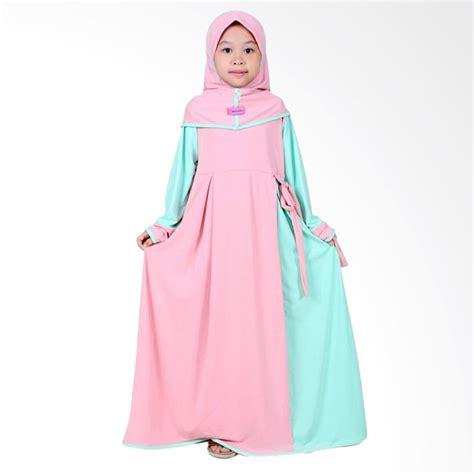 Harga Baju Anak Perempuan Terbaru update harga elbi gisela set baju muslim anak perempuan