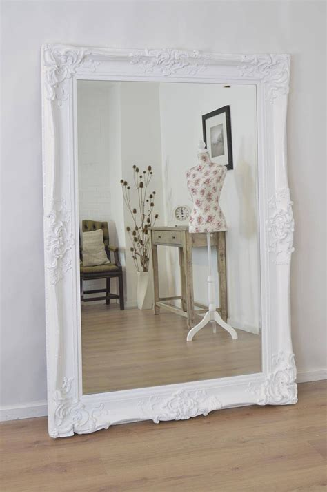 15 best ideas of shabby chic long mirrors