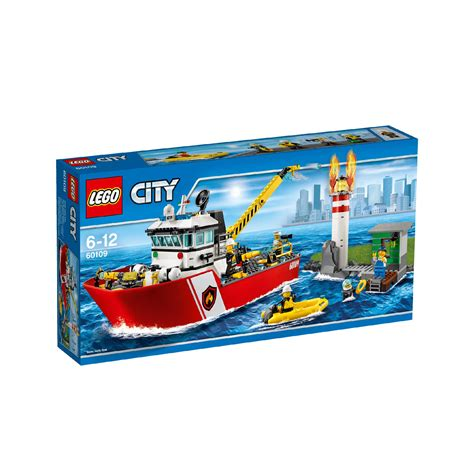 Lego A lego city boat 60109 163 65 00 hamleys for toys and