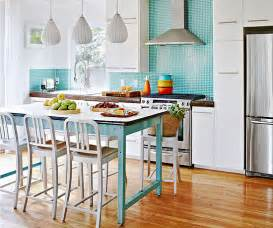 Diy Blue Kitchen Ideas Modern Furniture 2013 White Kitchen Decorating Ideas From Bhg