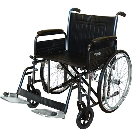 wheel chair roma 1473 bariatric wheelchair heavy duty uk wheelchairs