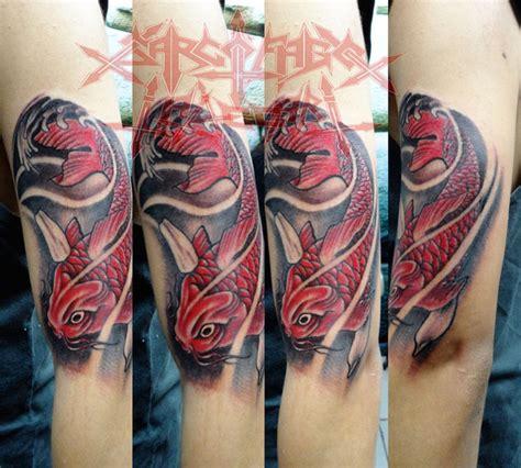 oriental tattoo pez koi tattoo tatuajes henry lopez romero