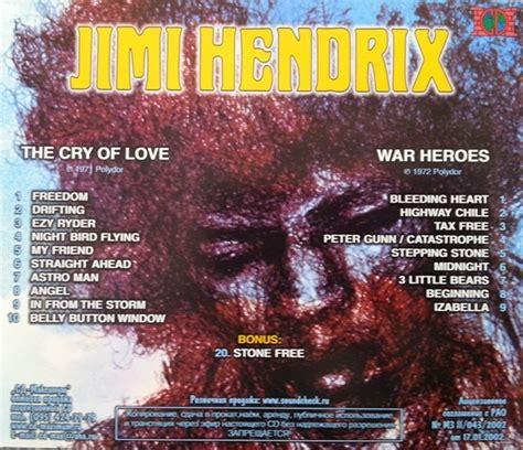 jimi hendrix cd  cry  love war heroes