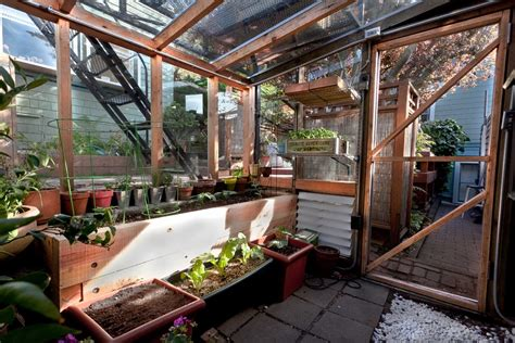 tremendous homemade greenhouse decorating ideas for garage