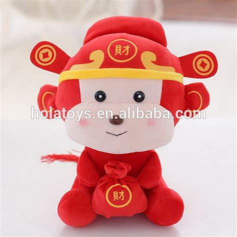 new year monkey plush hola monkey plush new year stuffed plush