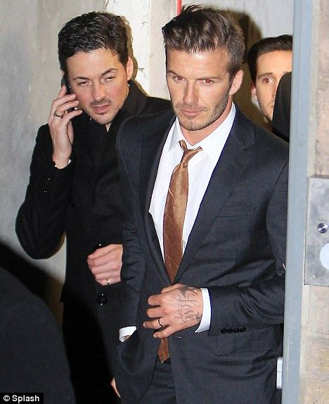 Beckham His Friends Travel by David Beckham Says He Only Has Three Friends But