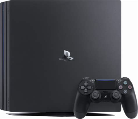 console playstation 4 sony playstation 4 pro console black 3002470 best buy