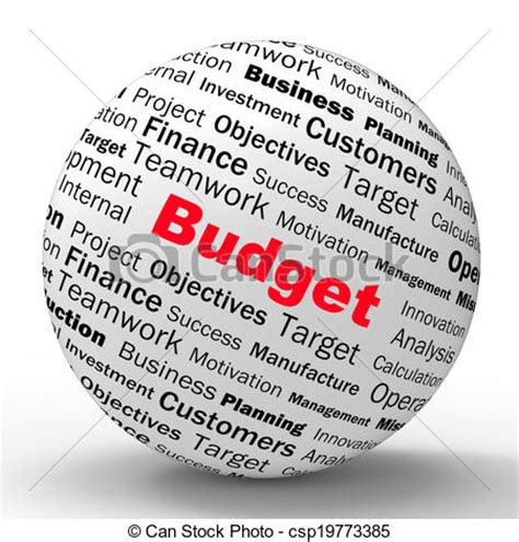 Vector Artwork Definition by Stock Illustration Of Budget Sphere Definition Shows