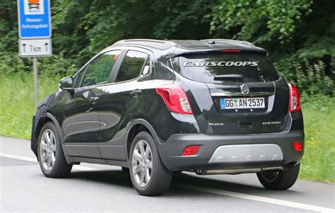 buick opel we spied gm testing facelifted buick encore and opel