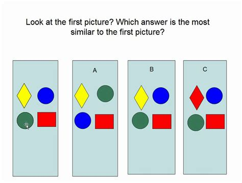 printable iq test for grade 1 first grade gifted and talented test sle part 4 youtube