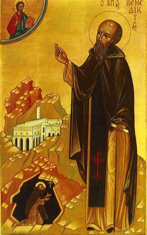 st benedict st benedict of nursia the twelve steps of humility