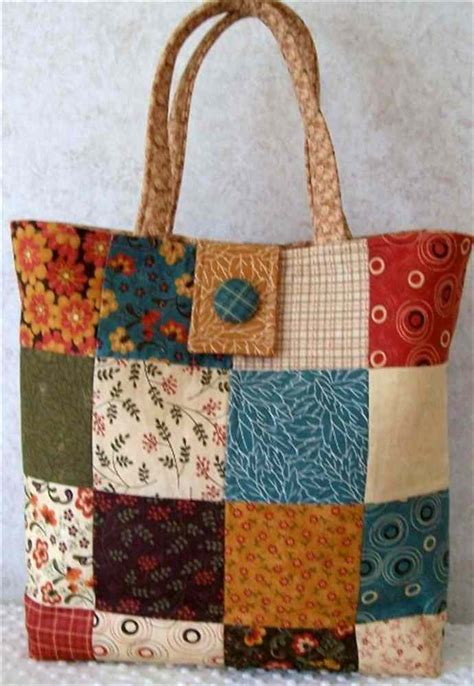Tote Bag Handmade - handmade quilted tote bag shophandmade