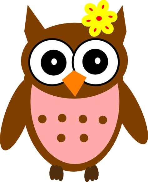 owl clipart free owl baby shower clip at clker vector clip