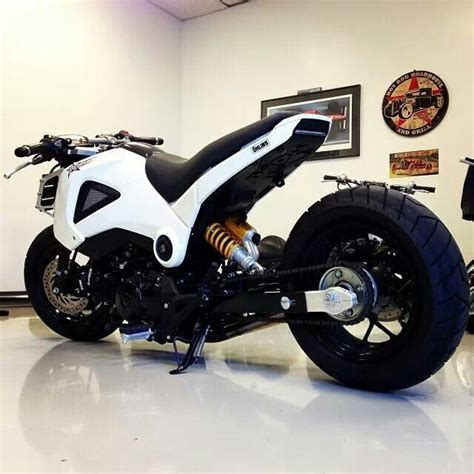 Honda Grom Lowered Composimo Stretched And Lowered Honda Grom Honda Grom