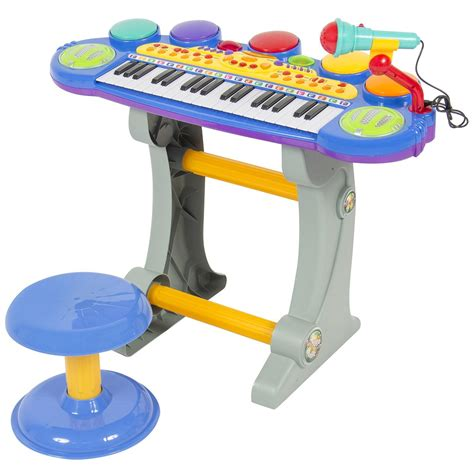 Toddler Piano With Stool by Toddlers Musical Electronic Keyboard Piano