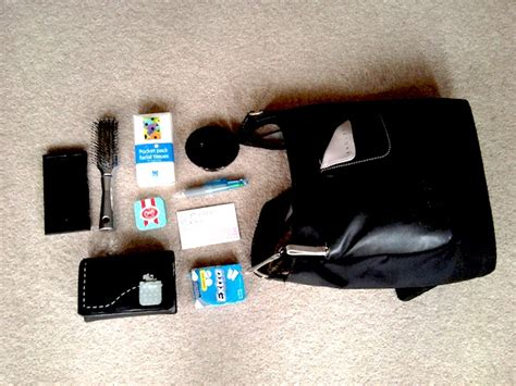 working away from home what s in your bag part 8 work