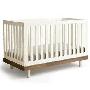 Modern Crib Classic Modern Crib In Walnut And Nursery Necessities In